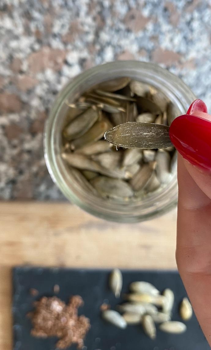 calabaza semillas