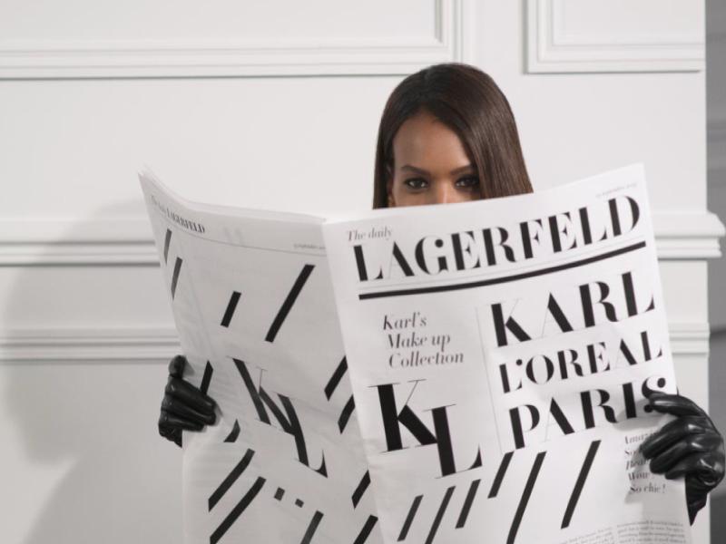 Karl Lagerfeld x L'Oréal Paris: la colección de maquillaje más esperada del año