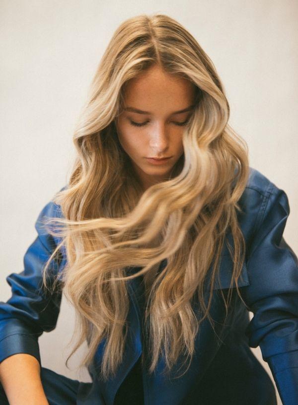 hábitos de las mujeres con un buen pelo